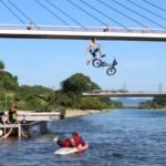 """""""Lebendiger Neckar"""" verwandelte das Neckarufer in eine bunte Aktionsfläche"""