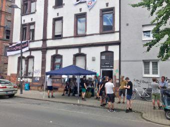 Impressionen von der erfolgreichen Hausbesetzung der Hafenstraße 66 | Foto: Lesereinsendung