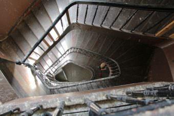 Das Treppenhaus der Hafenstraße 66 wurde herausgeputzt | Foto: CKI