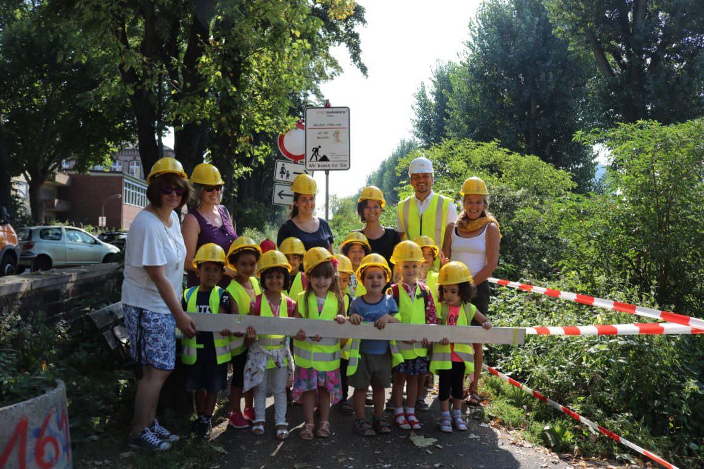 img 0475 1142x761 - Kindergartenkinder erkunden die Baustelle an der Dammstraße