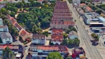 Im Sanierungsgebiet Untermühlaustraße soll ein Urbaner Garten die Gemeinschaft stärken | Bildmontage: Neckarstadtblog