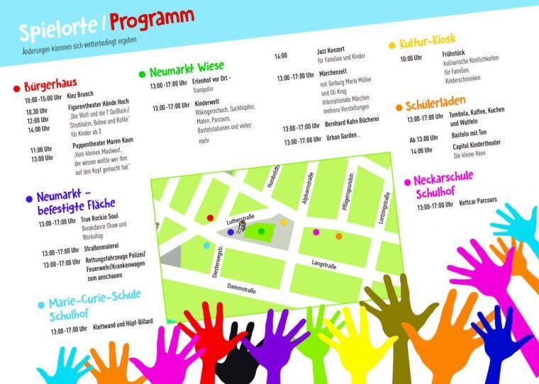 Programm-Karte: Quartiermanagement Neckarstadt-West