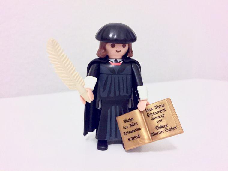 Reformator Martin Luther als Spielfigur | Foto: M. Schülke
