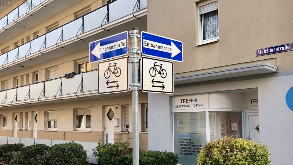 In Einbahnstraßen muss jetzt mit entgegenkommenden Radlern gerechnet werden   Foto: M. Schülke