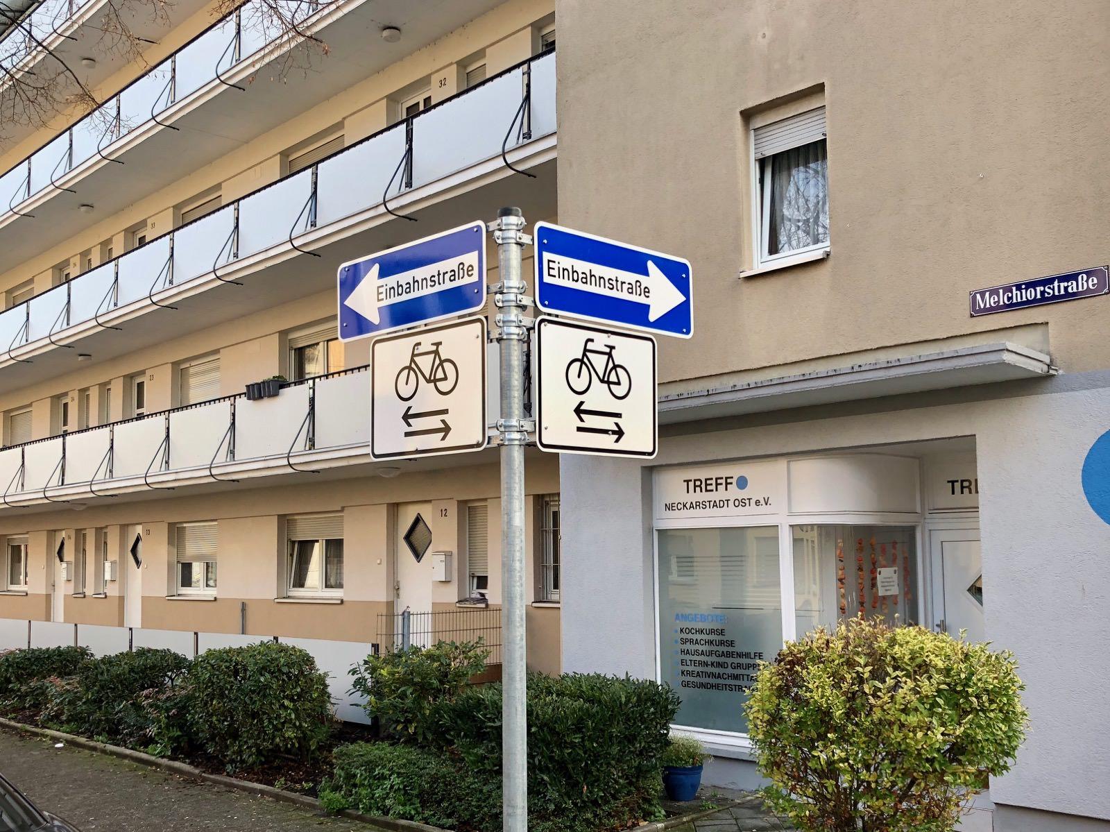In Einbahnstraßen muss jetzt mit entgegenkommenden Radlern gerechnet werden | Foto: M. Schülke