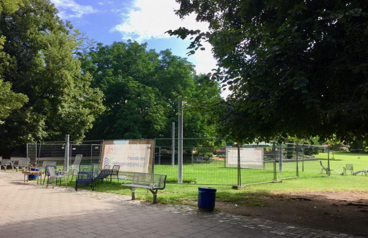 Der Förderverein und die Baustellen des Herzogenriedparks (Archivbild) | Foto: M. Schülke