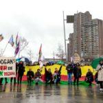 Kurden demonstrieren gegen türkischen Militäreinsatz