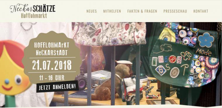 Screenshot: www.neckarschaetze.de
