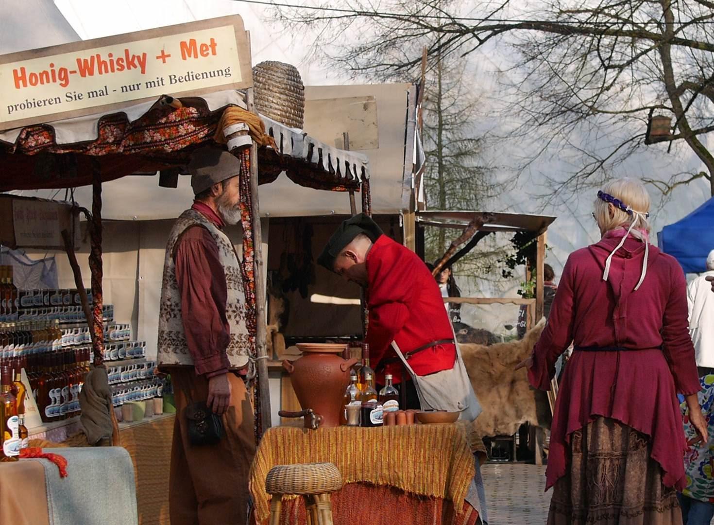Mittelaltermarkt im Herzogenriedpark (Archivbild 2015)   Foto: Neckarstadtblog