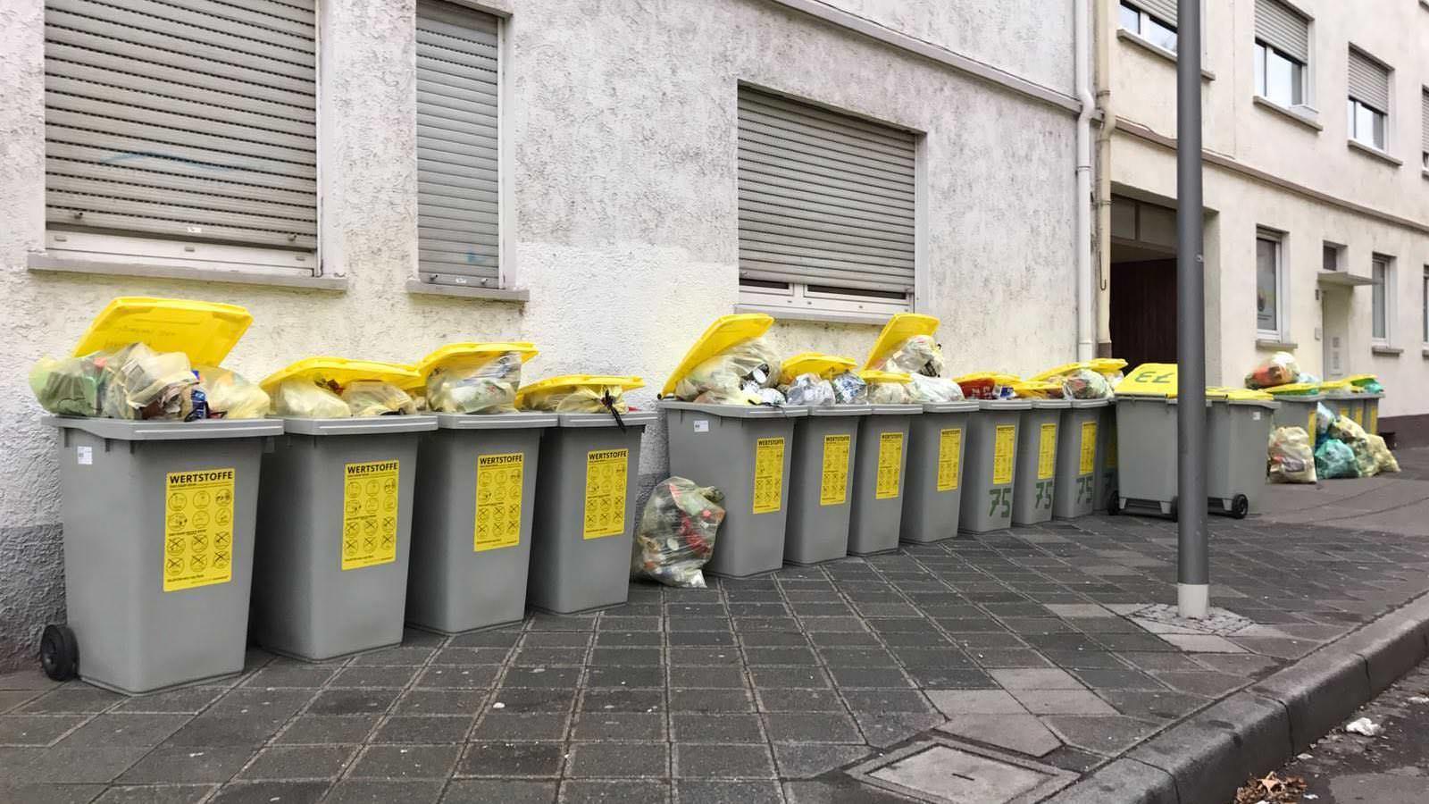 In der Neckarstadt ändert sich nichts. Hier werden die Gelben Tonnen ohnehin von der städtischen Abfallwirtschaft abgeholt | Foto: B.K.