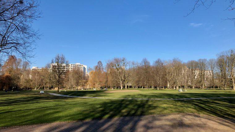 Der Herzogenriedpark bei bestem Frühjahrswetter | Foto: M. Schülke