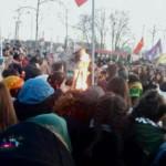 Friedliche Newroz-Feier auf dem Alten Messplatz