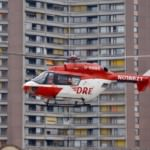 Verletzter Arbeiter ins Krankenhaus geflogen