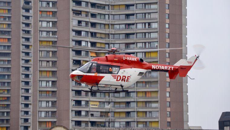 Rettungshubschrauber im Einsatz (Symbolbild) | Foto: D. Mudrack