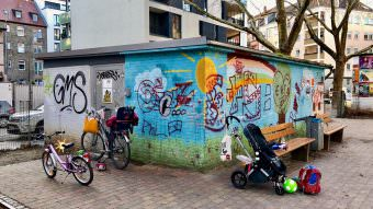 Das Trafohaus soll von einer Schulklasse verschönert werden | Foto: M. Schülke