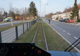 Seit gut anderthalb Jahren – oder genauer seit 620 Tagen – rollen die Bahnen der Linie 4/4A auf neuer Trasse | Foto: Stadt Mannheim