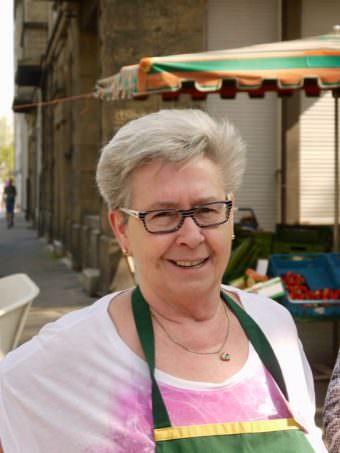 Rose Meidinger vom Erdbeerstand | Foto: M. Schülke