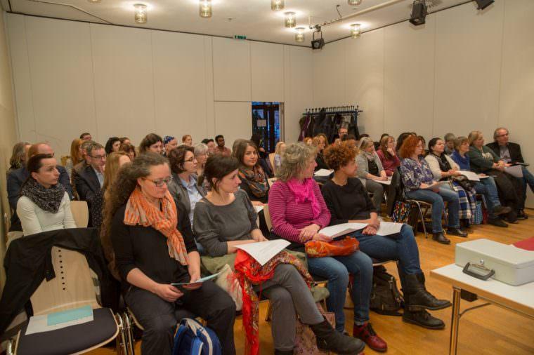 Auf der Gründungsveranstaltung der Neckarstadt Kids | Foto: Gerhard Heckmann