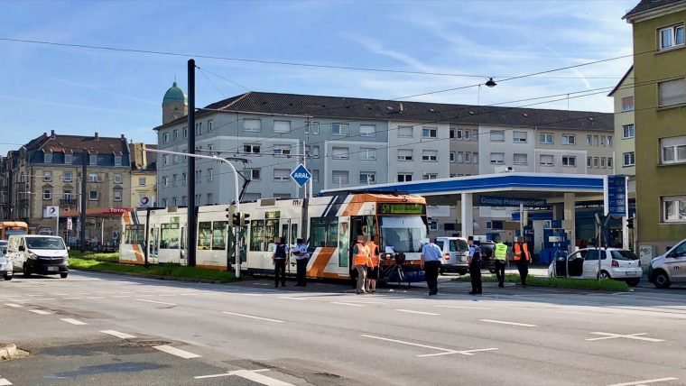 Unfallaufnahme in der Friedrich-Ebert-Straße | Foto: M. Schülke