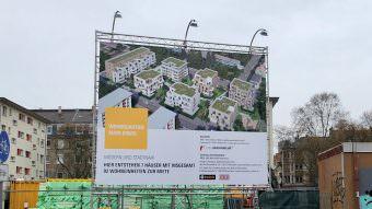 Aus 128 günstigen Wohnungen macht die städtische Wohnungsbaugesellschaft 92 teure Wohnungen. Hier wurden laut öffentlicher Aussage des Geschäftsführers absichtlich keine Fördermittel beantragt | Foto: M. Schülke