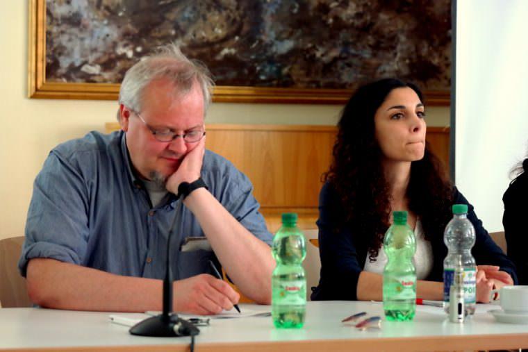 Tobias Pflüger, Jessica Tatti | Foto: Christian Ratz