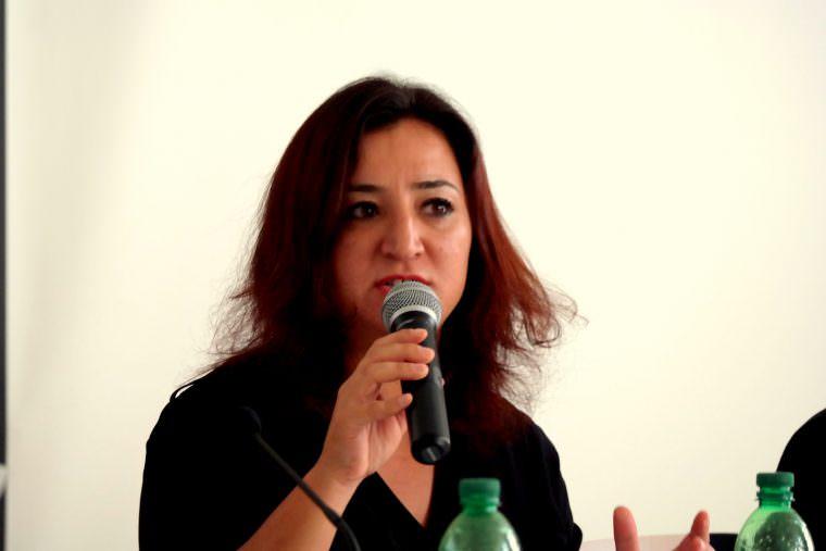 Gökay Akbulut, Migrations- und Integrationspolitische Sprecherin der Bundestagsfraktion der Linken   Foto: Christian Ratz