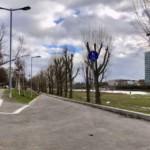 Fußgängerüberführung über die Dammstraße barrierefrei ausgebaut