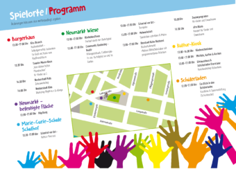 Familienfest 2018 Programmflyer | Bild: Quartiermanagement Neckarstadt-West