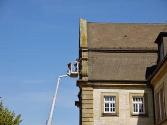 Von weit oben wollen Stadtverwaltung und Polizeipräsidium den Alten Messplatz rund um die Uhr beobachten lassen | Foto: M. Schülke
