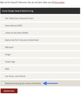 Unter dem Beitrag befindet sich die Möglichkeit abzustimmen | Screenshot: spiegel.de