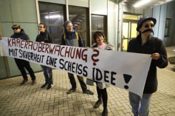 "Transparent der ""George Orwell Ultras"" | Foto: CKI"