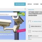 Online-Petition gegen den Ausbau der Videoüberwachung in Mannheim