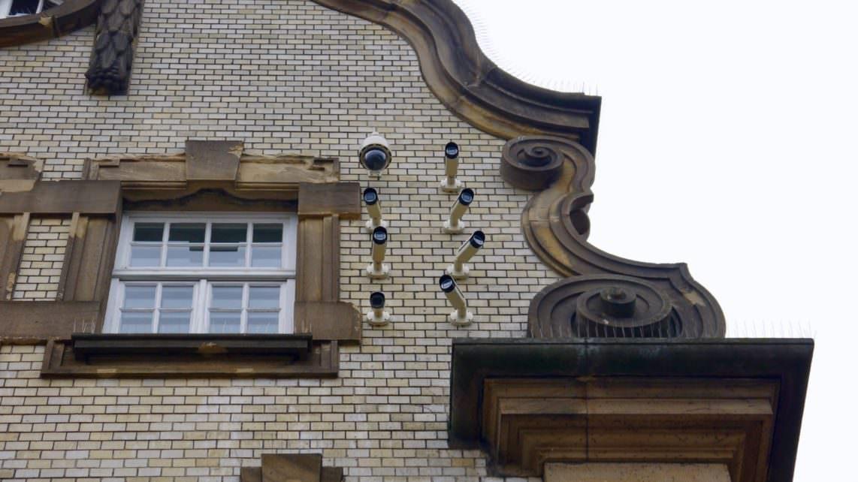 Seit dem 16. November 2018 sind die Überwachungskameras an der Alten Feuerwache scharf gestellt | Foto: M. Schülke