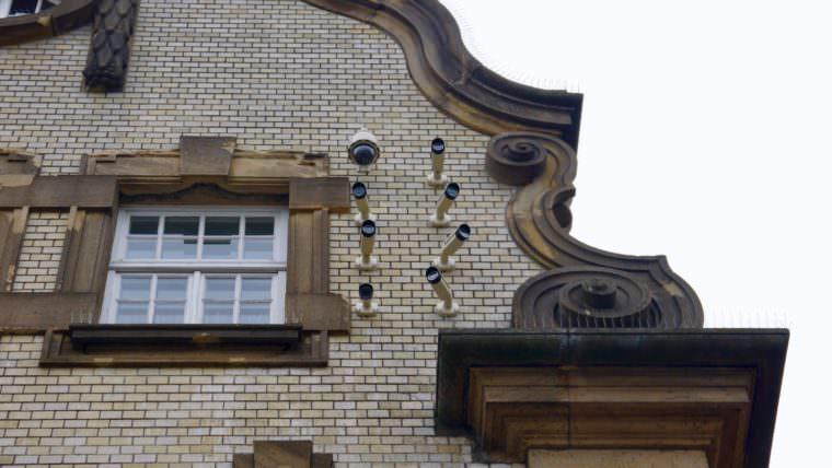 Alle Bürger*innen auf dem Alten Messplatz werden verdachtsunabhängig überwacht | Foto: M. Schülke