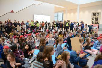 Kindergipfel 2018 in der Kunsthalle Mannheim | Foto: Stadt Mannheim, Thomas Rittelmann