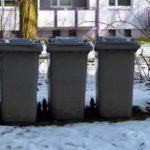 Die Abfalltonne richtig für den Winter rüsten