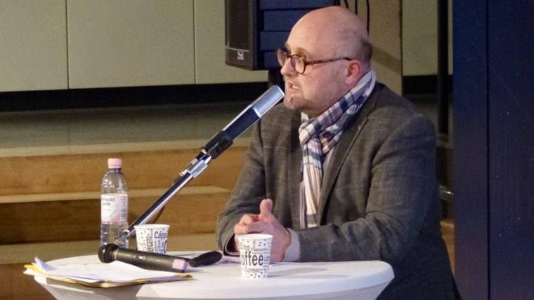 Joachim Költzsch, Geschäftsführer der Stadtpark Mannheim gGmbH   Foto: Liebert