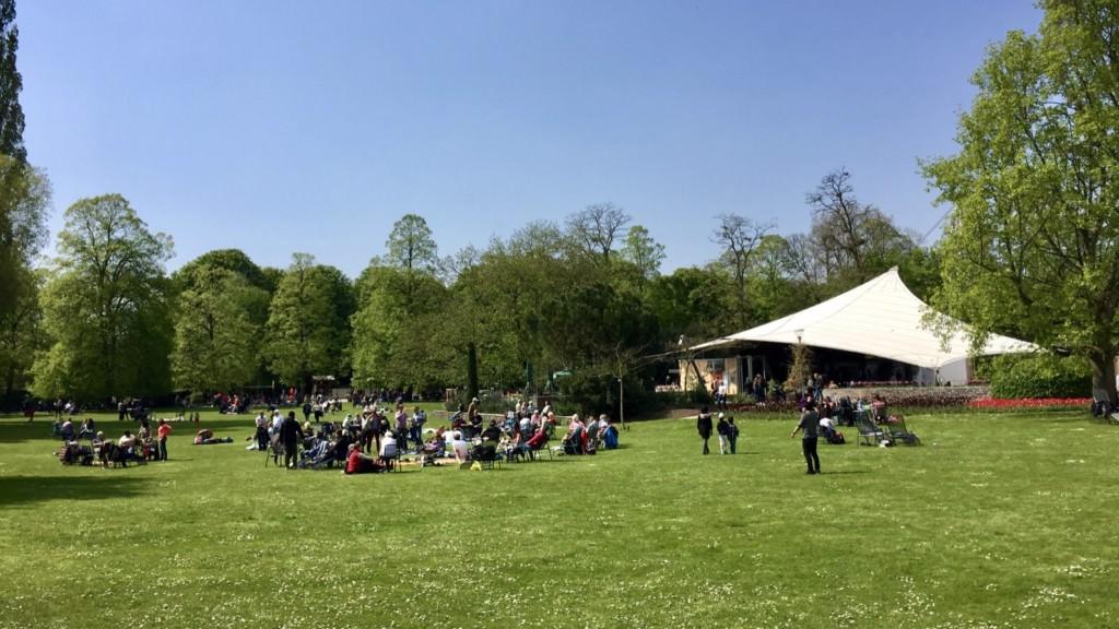 Der Herzogenriedpark im Frühjahr (Archivbild) | Foto: M. Schülke