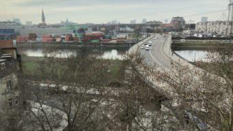 Vogelperspektive auf die Jungbuschbrücke | Foto: M Schülke