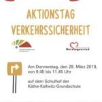 """Aktionstag """"Sicherheit und Rücksicht im Verkehr"""""""