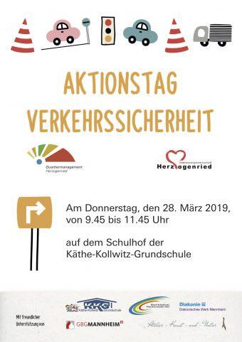 """aktionstag verkehrssicherheit plakat 340x481 - Aktionstag """"Sicherheit und Rücksicht im Verkehr"""""""