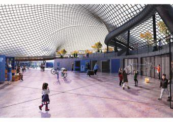 ankauf plug and play von o. closs l. bernhardt und p. wichmann 340x240 - Jury prämiert drei Arbeiten zur Zukunft der Multihalle