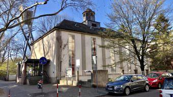 Auf Sand gebaut: Die Melanchthonkirche hat an der Kinzigstraße keine Zukunft | Foto: M. Schülke