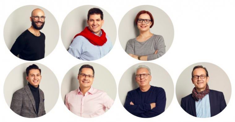 v.l.n.r.: Ali Badakhshan Rad, Kai Friedrich, Dr. Kerstin Hörig, Nabil Al-Azki, Ralf Eisenhauer, Reinhold Götz und Thomas Meier | Fotos: SPD Mannheim