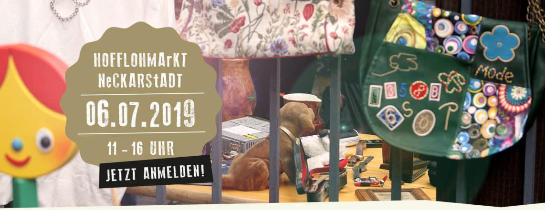 Neckarschätze Hofflohmarkt Anmelden Banner