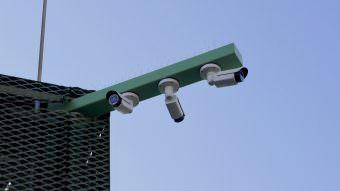Videoüberwachung auf dem Alten Messplatz: Angeblich kein Fahndungssystem, aber dafür nutzbar | Foto: M. Schülke