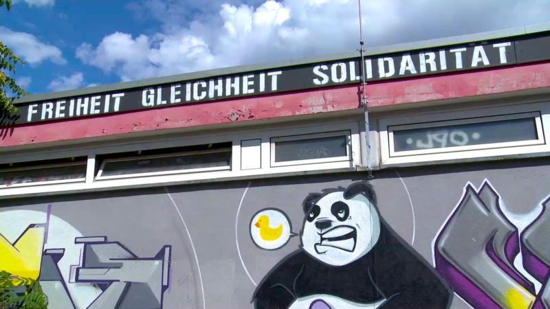 Das Mannheimer Jugendzentrum in Selbstverwaltung hat eine filmreife Vergangenheit | Standbild: Freie Räume