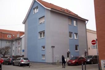 Die Zehntstraße 1 wird angemalt | Foto: Stadt.Wand.Kunst