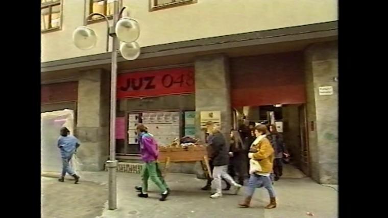 Das erste Mannheimer Jugendzentrum in O4 | Standbild: Freie Räume