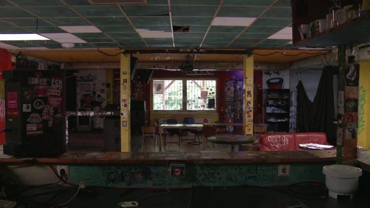"""Das Jugendzentrum in Selbstverwaltung """"Friedrich Dürr"""" in der Mannheimer Neckarstadt"""